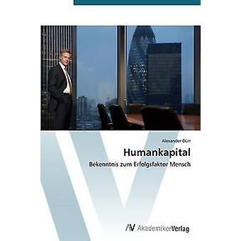 Humankapital by Durr Alexander