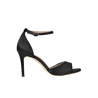 Bibi Lou Black Fabric Sandals