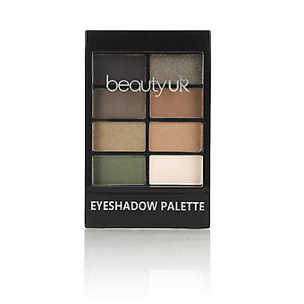 Beauty UK Eyeshadow Palette No.5-Green with Envy