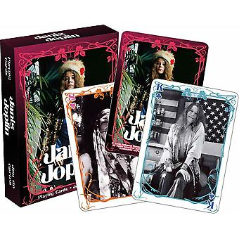 Janis Joplin baraja de 52 cartas (nm)