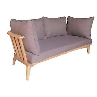 Cozy Garden Biarritz loungebank - bruin