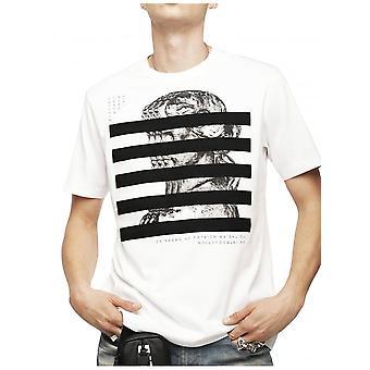 Camiseta diesel T-sólo-yo-blanco