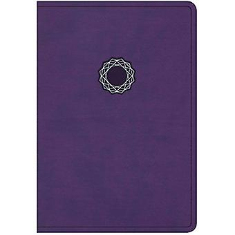 KJV Deluxe Gift Bible - Purple/Teal Leathertouch by Holman Bible Staf