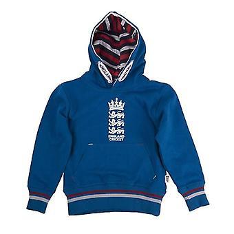 ECB England Cricket Kids Classic Hoodie | Blue | 2019