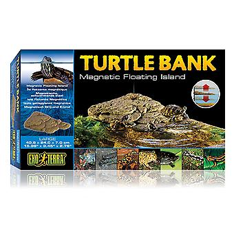 Exo Terra Terra Turtle Bank Magnetic Floating Island Small