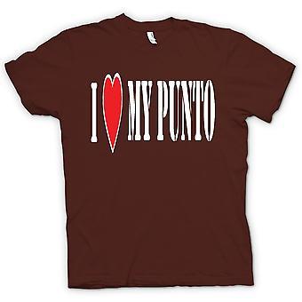 القميص النسائي--أنا سيارة-متعة-فيات بونتو لوفيمى