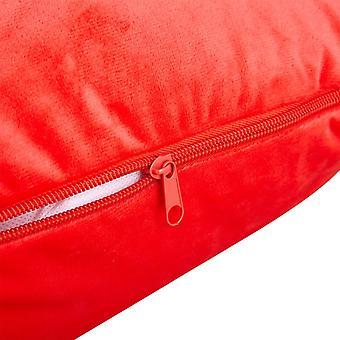 Snipe case Red Velour to Body pillow Estelle J-shape