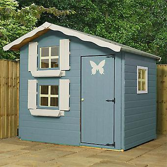 Mercia 7x5ft Snowdrop Cottage Double Storey Wooden Playhouse