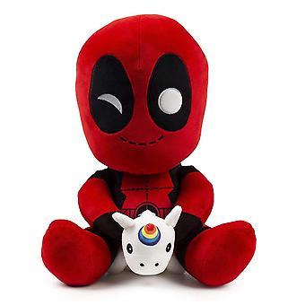 Plysj-Marvel-Deadpool w/Unicorn HugMe 14