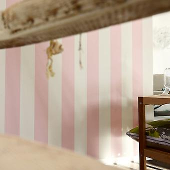 A.S. Creation AS Creation Liberte Striped Pattern Pastel Color Textité Wallpaper 314086
