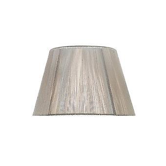 Mantra Silk String Shade Silver Grey 190/300mm X 195mm