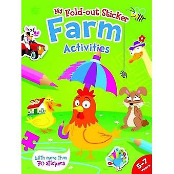 Farm (My Fold Out Sticker Activities)
