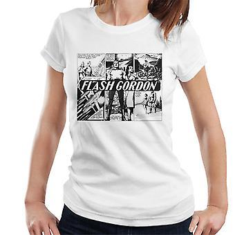 Flash Gordon Submarine Comic Montage Women's T-Shirt