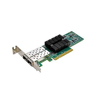 Synology E10G17-F2 Dual-Port 10 Gb SFP+ PCIe 3.0 x8 Ethernet Adapter