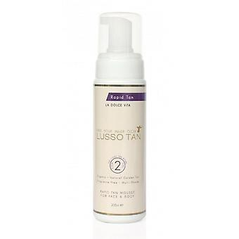 Lusso Tan Rapid Tanning Mousse