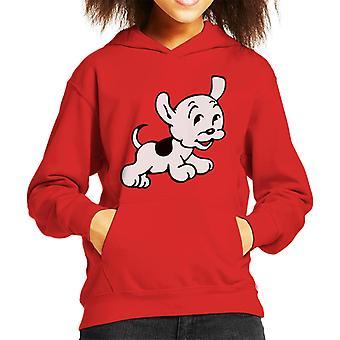 Betty Boop Pudgy springt Kid's Kapuzen Sweatshirt