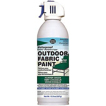 Outdoor Spray Fabric Paint 13.3oz-Hunter Green OF0046-5M