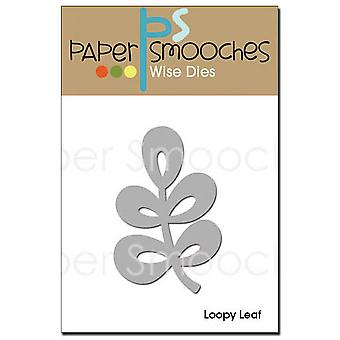 Paper Smooches Die Loopy Leaf Fbd020