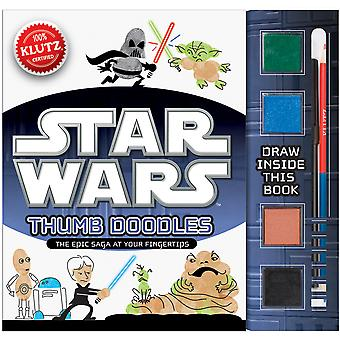 Star Wars Thumb Doodles Book Kit K549284