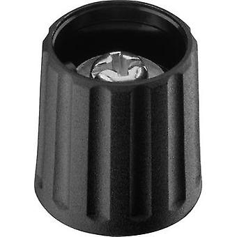 Control knob Black (Ø x H) 15 mm x 16.2 mm Ritel 26 15 40 3 1 pc(s)