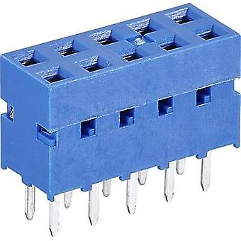 Receptacles (standard) No. of rows: 2 Pins per row: 6 FCI 76342-306LF 1 pc(s)