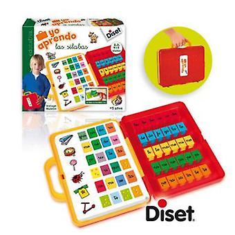 Diset I learn The Syllables (Toys , Educative And Creative , Vocabulary)