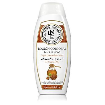 Lme Nourishing Body Lotion Almond And Honey 500 Ml