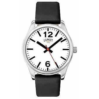 Limit Mens Black Strap White Dial 5626.01 Watch
