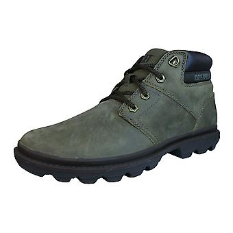 Caterpillar Mowry Mens Suede Leather Chukka Boots - Brown