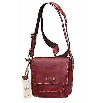 Dr. Waxi Amsterdam Schultertasche rot