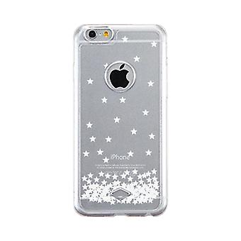 Apple iPhone 6 6S Transparent Scratch Resistant Phone Cover (Stars Pattern)
