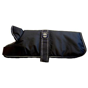 Padded Waterproof Belly Coat Navy Blue 51cm (20