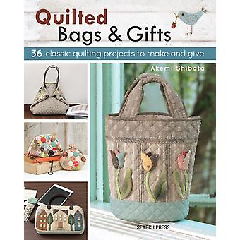 Quilted Bags and Gifts: 36 Classic Quilting Projects to Make and Give (Paperback) by Shibata Akemi