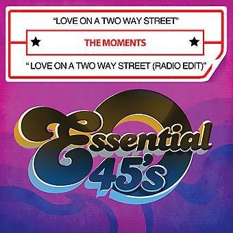 Momentos - amor en un manera dos calle/amor en una importación de Estados Unidos de dos manera calle [CD]