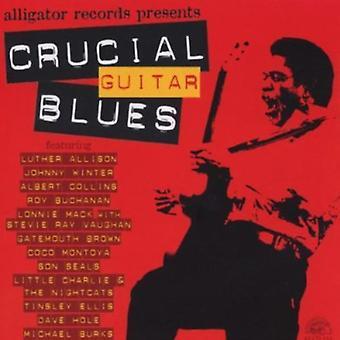 Afgørende Guitar Blues - Crusical Guitar Blues [CD] USA importerer