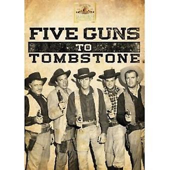 Importación de cinco armas de fuego a los E.e.u.u. de la piedra sepulcral [DVD]