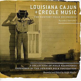 Louisiana Cajun + Creole musik: The Newport Field - Louisiana Cajun + Creole musik: The Newport fältet [CD] USA import
