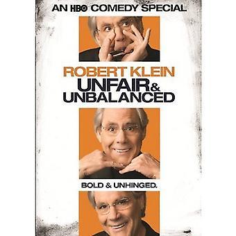 Robert Klein - importación de Estados Unidos injusto & desequilibrado [DVD]