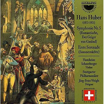 H. Huber - Hans Huber: Symfoni No. 5; Erste Serenade [CD] USA importerer
