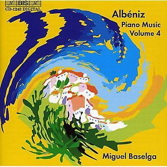 I. Albeniz - Alb Niz: Piano Music, Vol. 4 [CD] USA import