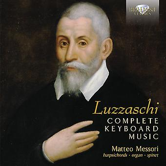 Luzzaschi - Comp klavermusik [CD] USA import