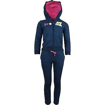Girls Despicable Me Minions Tracksuit Jogging Suit HO1575