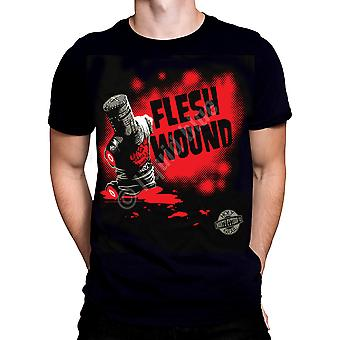 Liquid Blue - FLESH WOUND - Short Sleeve T-Shirt PLUS SIZES