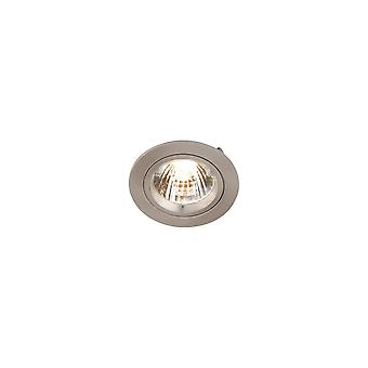 LED Robus Zak GU10 240V Twist & lås Downlight, borstad krom