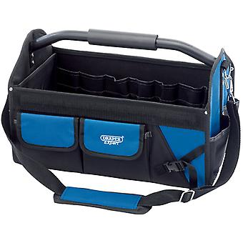 Draper 31595 24in/600mm Heavy Duty Folding Tote Hand & Power Tool Bag/Carry Case