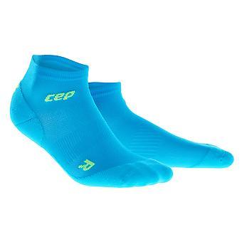 CEP damer gå sock dynamisk + ultralet low-cut - blå