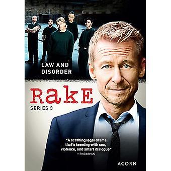 Rake: Series 3 [DVD] USA import