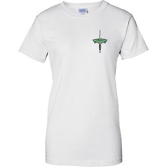 Royal Marines Commando Dolch - Elitetruppe Marine - Damen Brust Design T-Shirt