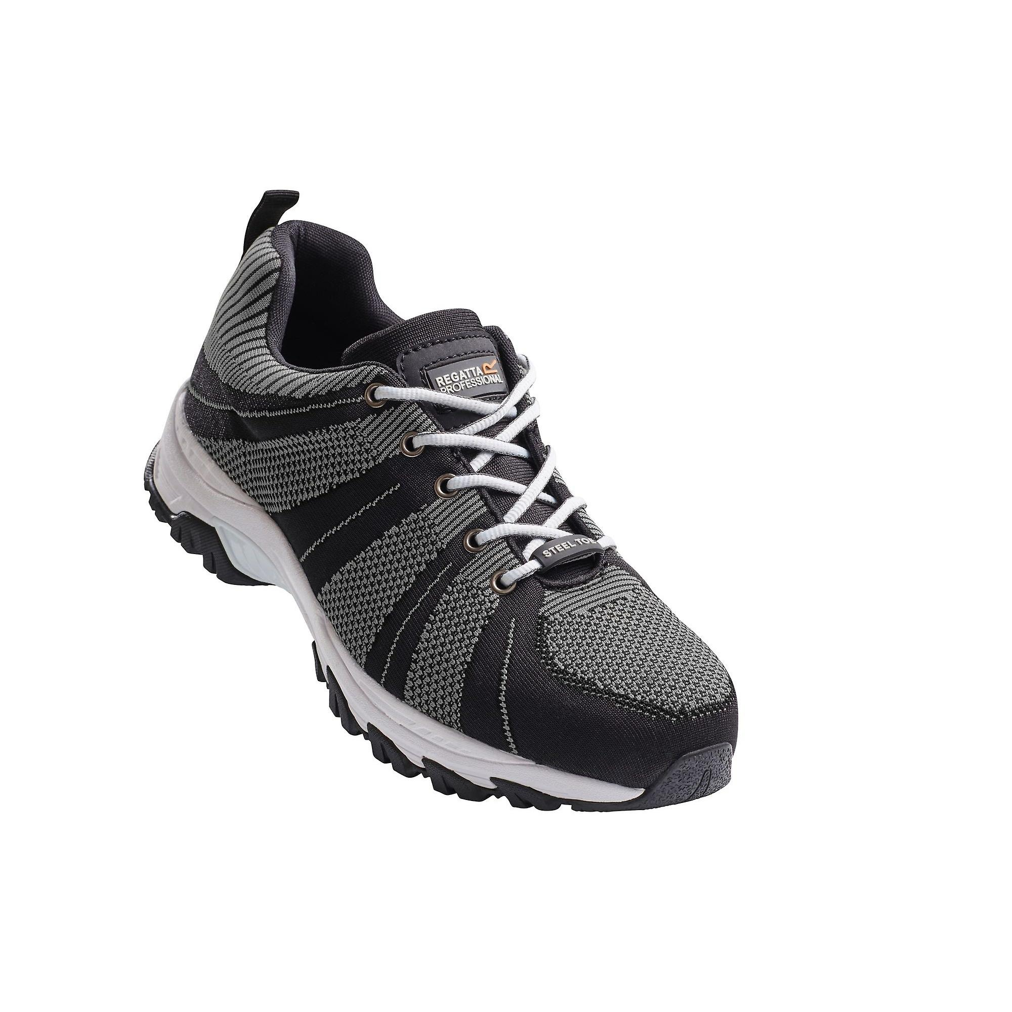Regatta Hardwear Mens Rapide Knit Wide Fitting Safety Trainers