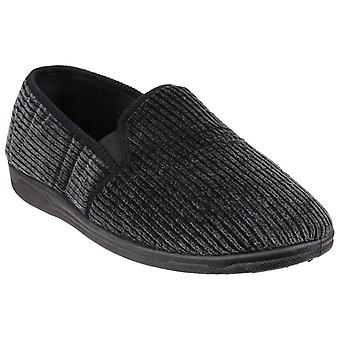 Cotswold Mens Richard Closed Back Slippers